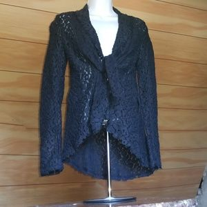 Elizabeth & James Lace Jacket